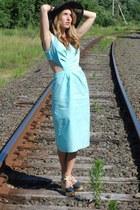 Vena Cava shoes - vintage dress - vintage hat