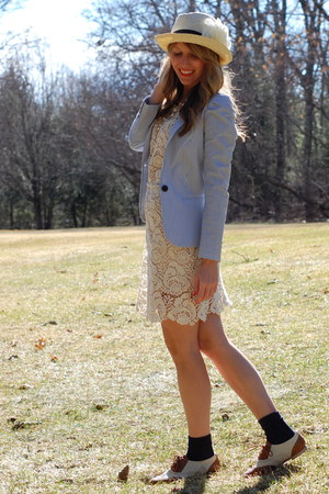 TJ Maxx dress - H&M coat - Forever 21 hat - Wanted loafers