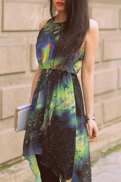 teal Dolce Vita dress