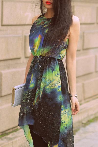 teal Dolce Vita dress