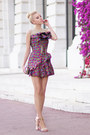 Hot-pink-let-them-stare-dress