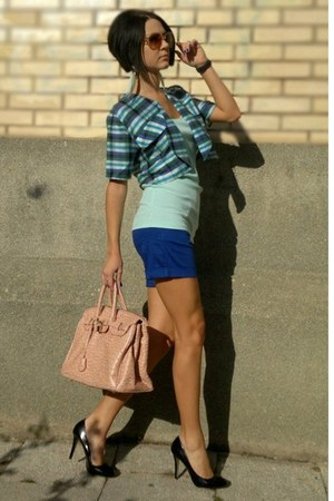 Mohito bag - New Yorker shirt - Happening shorts - CCC sunglasses - Centro heels