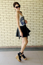 Tally Weijl skirt - Terranova bag - Aldo sunglasses - H&M sandals