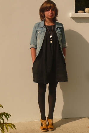 jacket - dress - shoes
