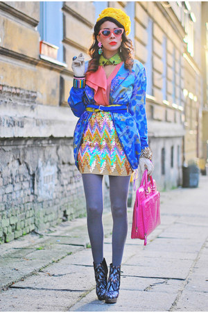 pink snake skin OASAP bag - beginning boutique skirt