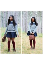 heather gray others follow sweater - boots