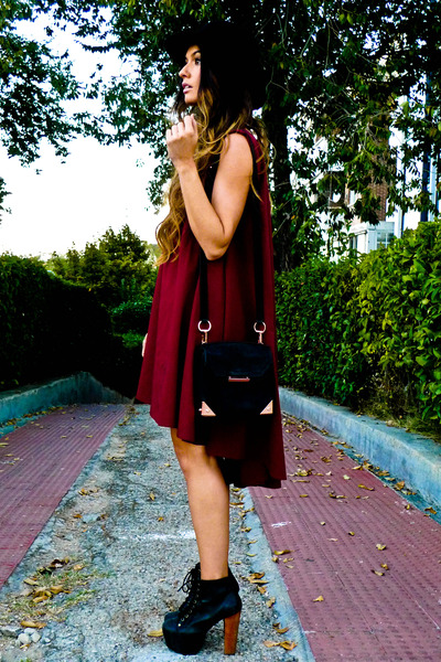 Jeffrey Campbell shoes - asos dress - Alexander Wang bag