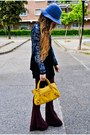 H-m-hat-sequined-mango-jacket-balenciaga-bag-american-gold-pants