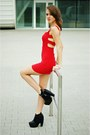 Red-stylishplus-dress