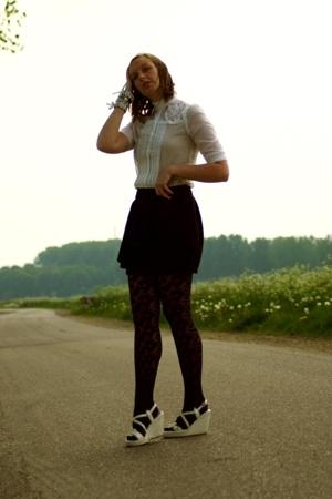 blouse - asos skirt