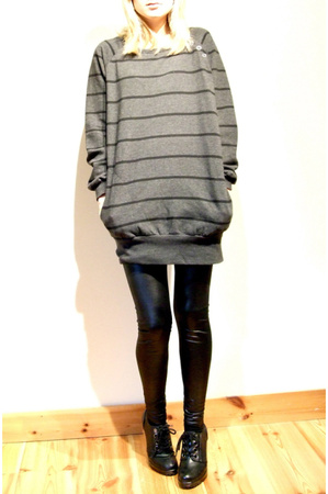 BikBok sweater - BikBok pants - DinSko shoes