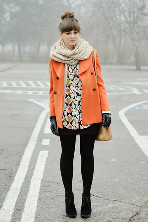 orange Chicwish coat