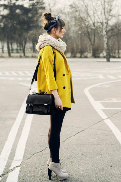yellow Chicwish coat