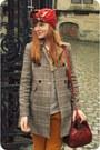 Black-zara-boots-camel-h-m-coat-ruby-red-vintage-scarf