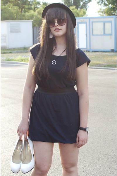 caliope dress - YSL heels