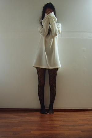 Maiden dress - tights