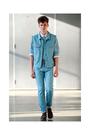 blue Patrik Ervell jacket - blue Patrik Ervell jeans