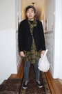 UO jacket - H&M jacket - Cheap Monday jeans - Keds shoes