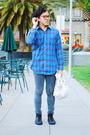 shirt - Cheap Monday jeans - Fobs Footwear shoes - YMC purse