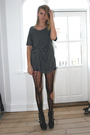 Gray-monki-t-shirt-black-diy-tights-black-jeffrey-campbell-shoes-silver-gl