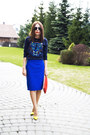 Navy-concept-club-sweater-red-zara-bag-blue-incity-skirt-yellow-heels