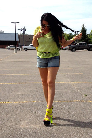 lime green ray-ban sunglasses - lime green LABELSHOEScom sandals