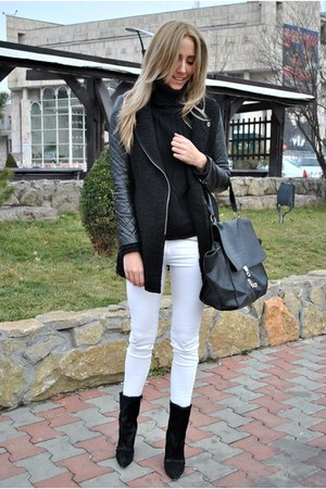 OASAP bag - PERSUNMALL boots - Sheinside coat