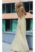 eggshell Ava Precub dress