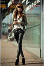White-modcloth-top-black-topshop-boots