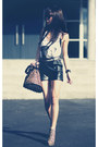 Black-schwing-schwing-shorts-yellow-jeffrey-campbell-shoes