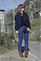 Zara boots - Zara pants