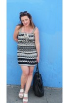 missoni Target dress - camper sandals - J Crew necklace