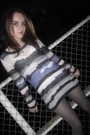 Silver-h-m-sweater-silver-h-m-tights-silver-trash-vaudeville-necklace
