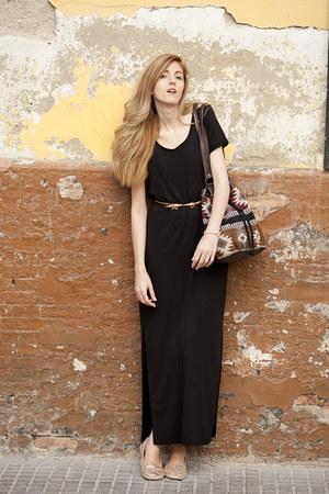 H&M dress - Misako bag - Primark belt - Bershka sandals