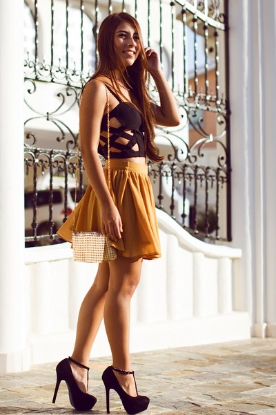 Iconicas top - vestimenta bag - Forever 21 skirt
