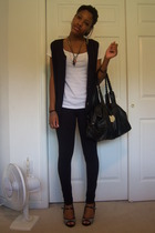 Old Navy shirt - vest - Kill City pants - Dolce Vita purse