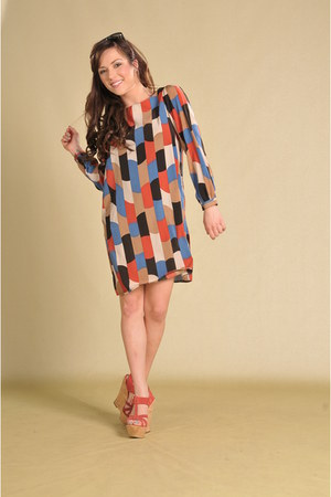 Lipsy London dress - Miss Sixty wedges