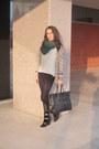 Black-wedge-isabel-marant-boots-off-white-sweater-dark-green-scarf