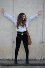 Black-zara-leggings-black-vintage-belt-gray-shirt-black-new-look-boots-o