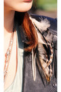 Silk-stylein-dress-leather-zara-jacket-feathers-donaarg-accessories