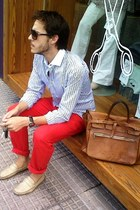 teran shoes - Garcon Garcia shirt - Casa Lopez bag - El Cid pants