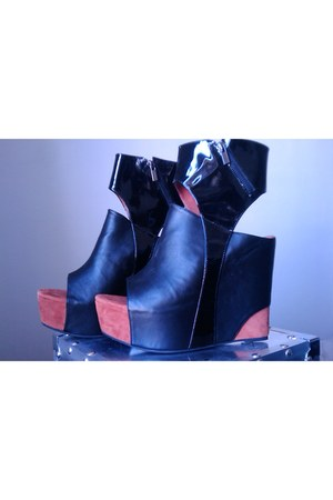 mcfly Jeffrey Campbell wedges