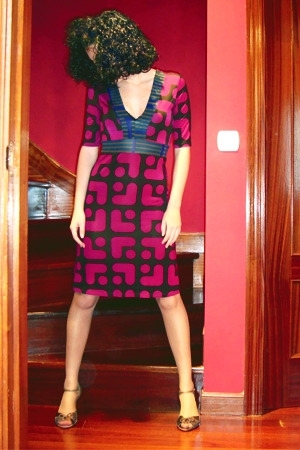 Custo Barcelona dress - Fosco shoes