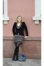 Black-promod-cardigan-gray-promod-dress-black-kunert-tights-black-akira-bo