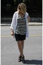 White-thrifted-shirt-dark-brown-target-sunglasses-black-forever-21-skirt-b