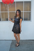 black sequin Tobi dress