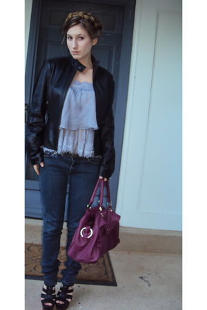 Old Navy bag - Alice and Olivia for Payless shoes - D&G Wonder jeans - Urban Out