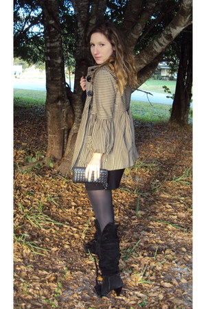 Nanette Lepore jacket - Bakers boots - kensie dress