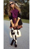 Fraas scarf - vintage bag