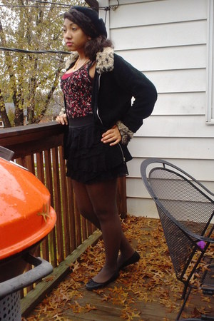 lace Forever21 bodysuit - black Old Navy shoes